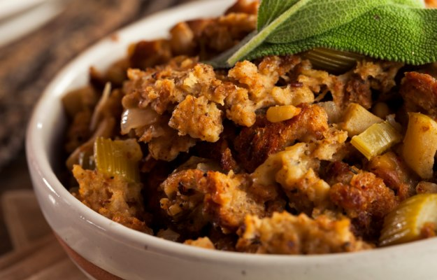 Stuffing | How To Size Out Your Thanksgiving Calories