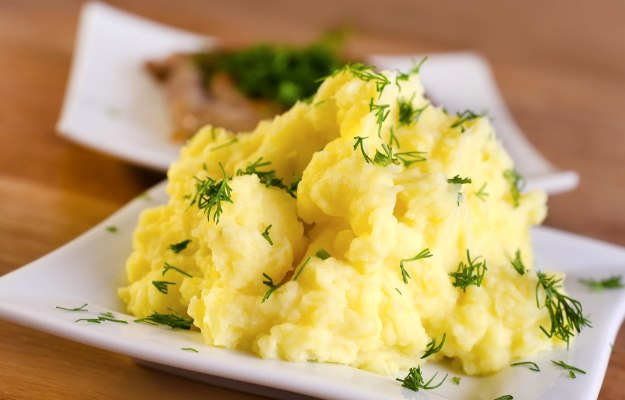 Potatoes (Sweet or Mashed) | How To Size Out Your Thanksgiving Calories