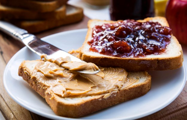PB&J Sandwich   What To Eat Before A Workout To Boost Muscle Pumping Energy