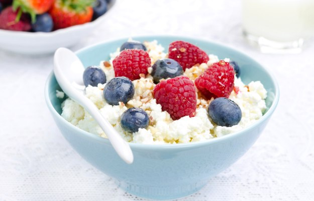 Low-Fat Cottage Cheese   What To Eat Before A Workout To Boost Muscle Pumping Energy