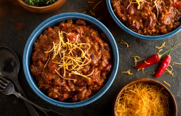 Top with Cheese and Serve Hot   Winter Muscle-Building Chicken Chili