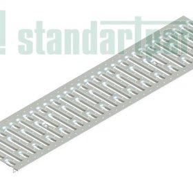 Решітка водоприймальна Basic РВ-20.24.100 штампована, нержавіюча сталь 2590