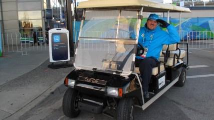 Dejan Slokar volonter na XXI ZOI Vankuver 2010.