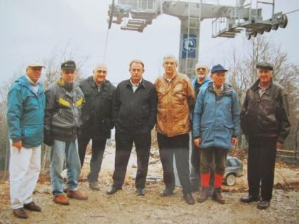 Vlatko Sllokar, Ahmet Karabegovic, Zlatko Hrnjic,  (direktor SC Blidinje), Noka Bilic, Ljubisa Zecevic, Zoran Dorsner i (?)