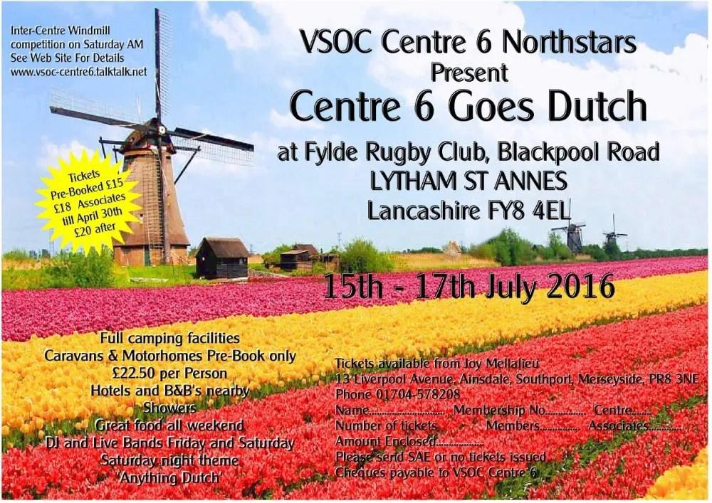VSOC C6 Goes Dutch Flyer