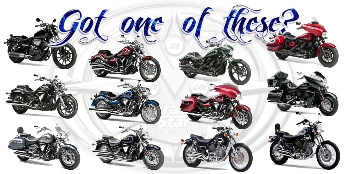 Virago Star Owners Club for Yamaha XV Motorcycle Riders