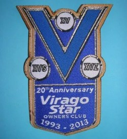 20th Anniversary VSOC Patch