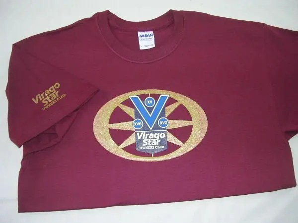 VSOC Burgundy T-Shirt