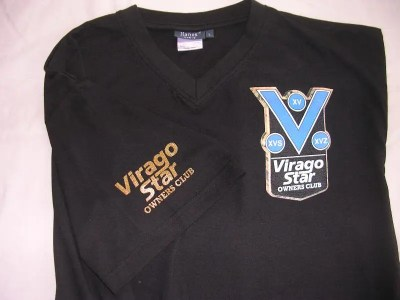 VSOC Black V-Neck Shirt