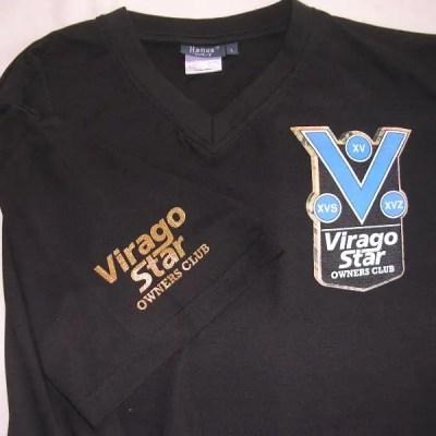 VSOC Black V-Neck Shirt