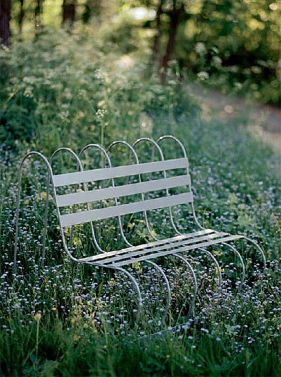 Garden Bench for Design House Stockholm. Ung Svensk Form (2001) Utmärkt Svensk Form (2002) Purchase by Nationalmuseum, Stockholm (2002) Grand Prix Formidable (2003)