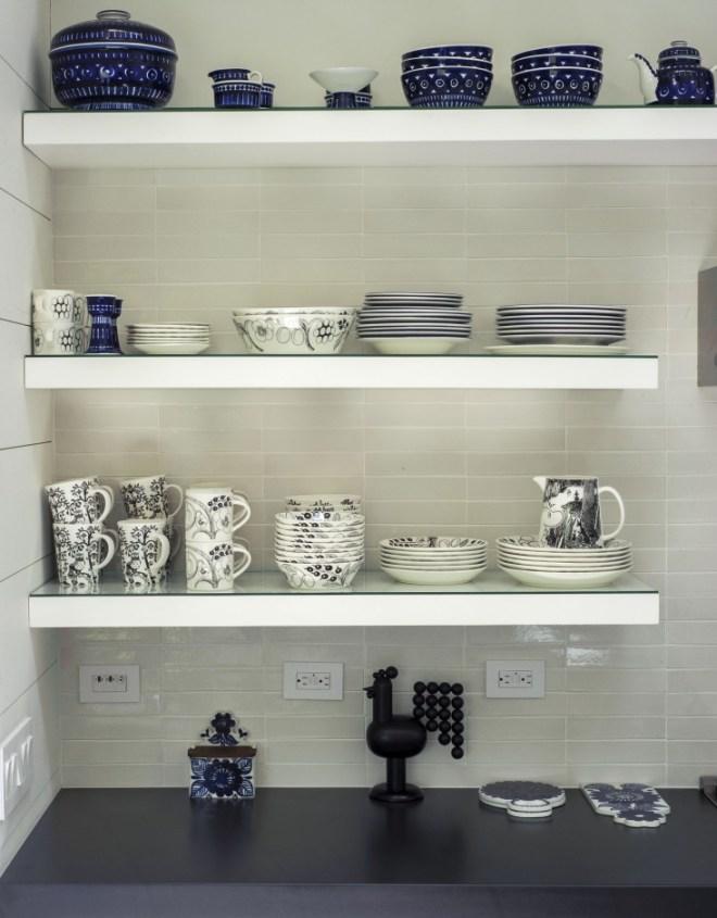 Vintage Arabia ceramics and Iittala tableware.