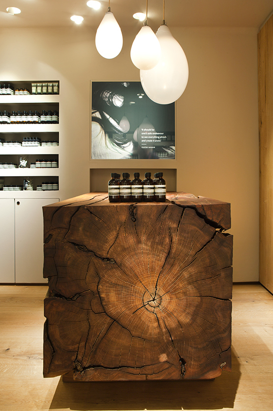 Aesop Store Stockholm. Photo by Ludger Paffrath.