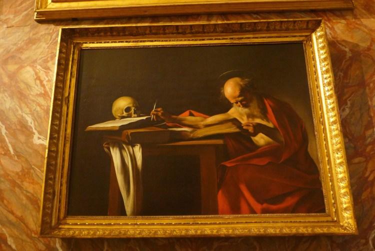 Caravaggio at Galleria Borghese, Rome. V Söderqvist Blog.