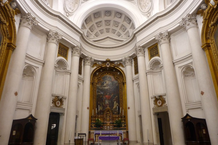 Borromini's San Carlo alle Quattro Fontane, Rome.