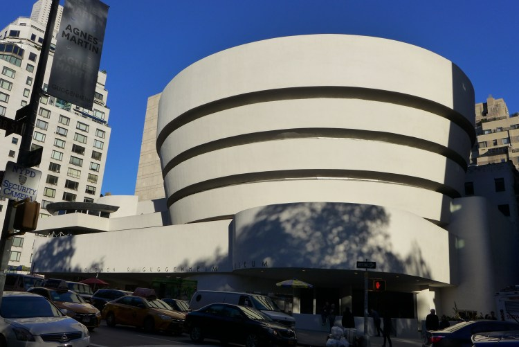 The Guggenheim Museum.