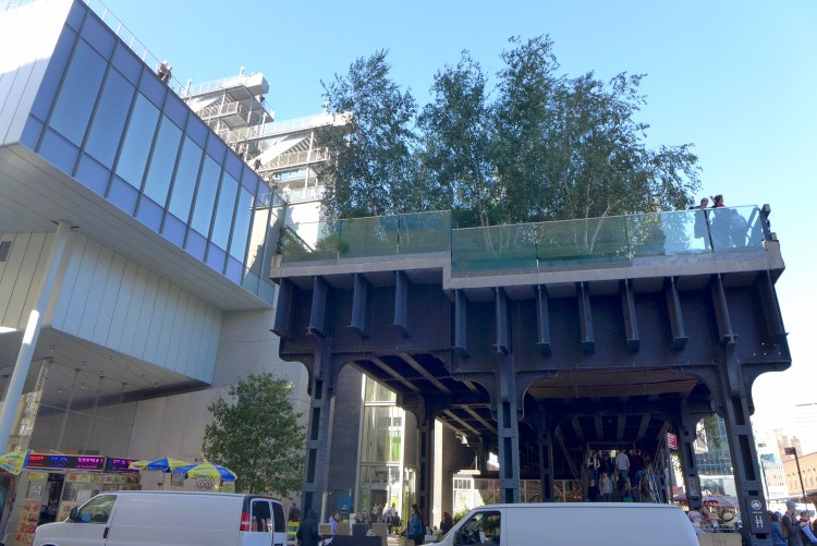 The end of the High Line lands you at the Whitney Museum of American Art.