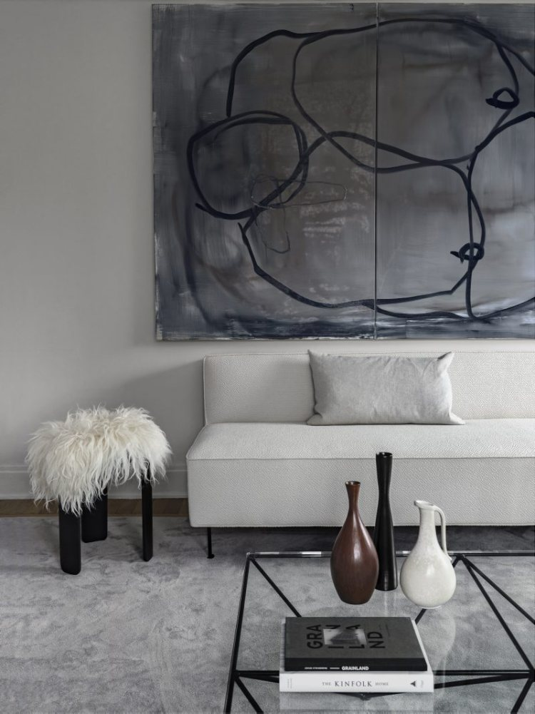 Stockholm Apartment of stylist Hanna Wessman.