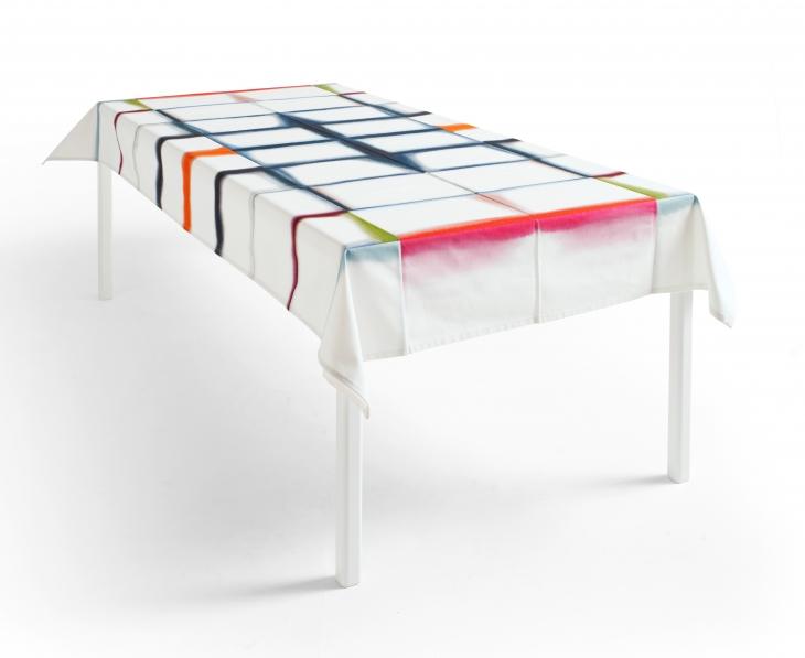Fold Unfold Tablecloth for Hay. Margrethe Odgaard, V Söderqvist Blog.
