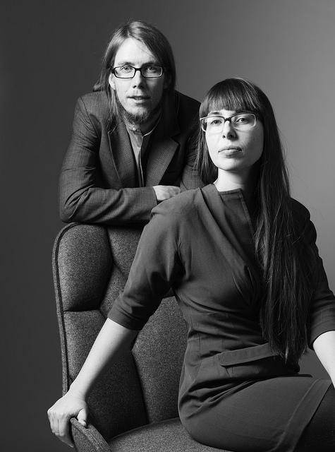 Emma Blanche and Fredrik Färg of Färg & Blanche. Photo: Lennart Durehed. V Söderqvist Blog.