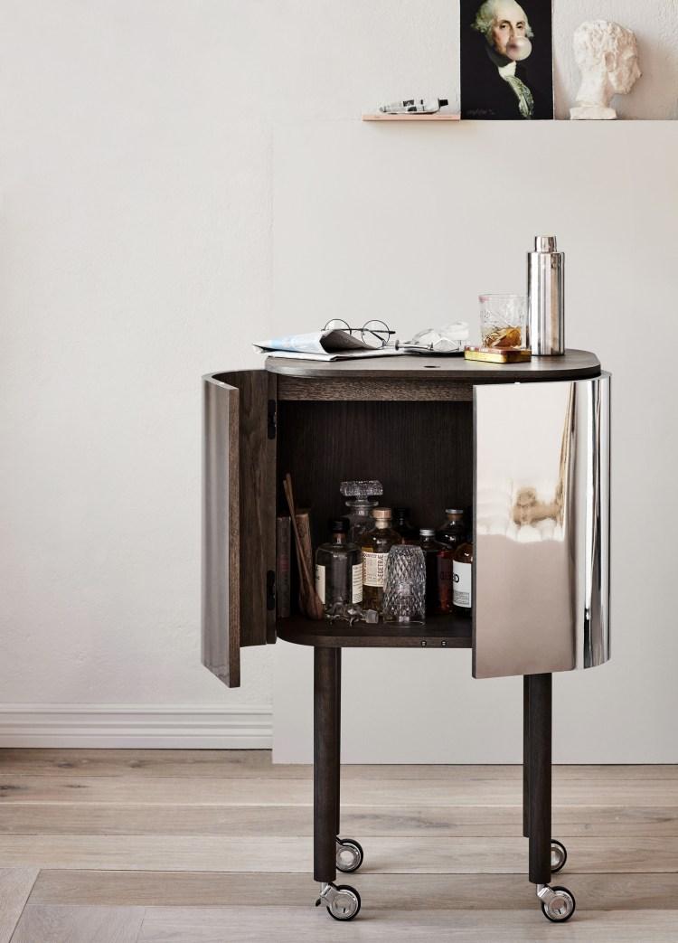 Loud Bar Cabinet for Northern. Färg & Blanche V Söderqvist Blog.