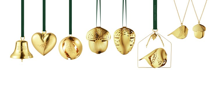 Georg Jensen Christmas ornaments 2018. Monica Förster, V Söderqvist Blog.