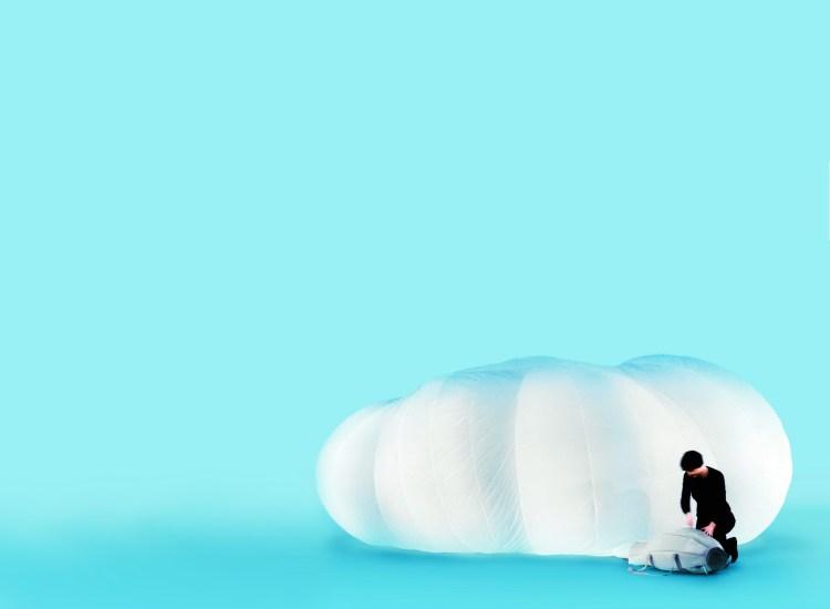 CLOUD, Offect. Portable inflatable room. 2003. Monica Förster, V Söderqvist Blog interview.