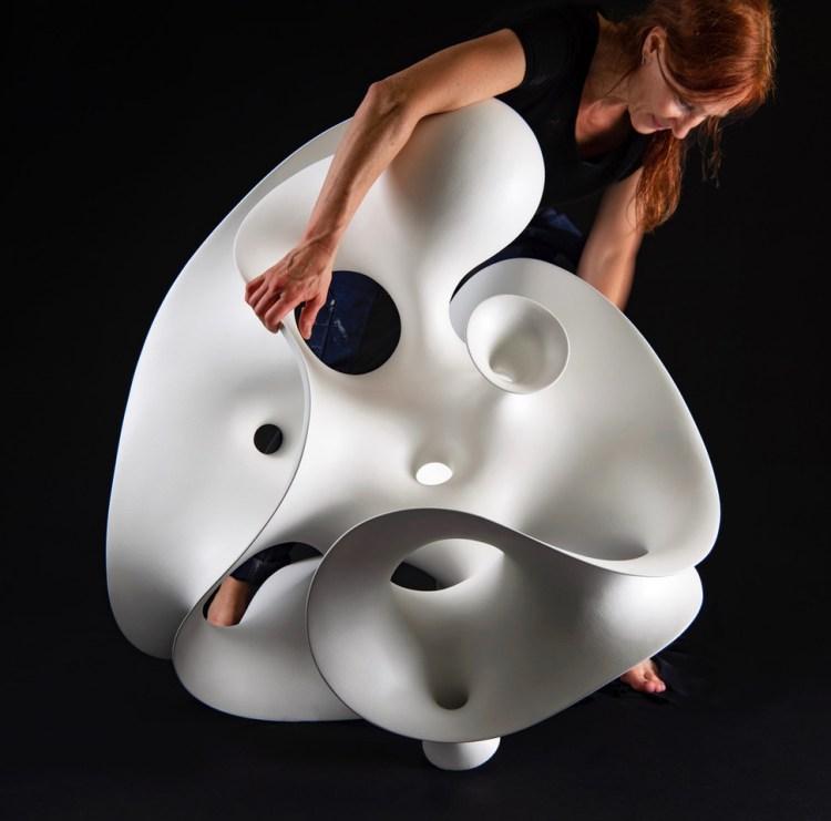 Eva Hild. V Söderqvist Art & Design Talks. Photo: Anna Sigge.