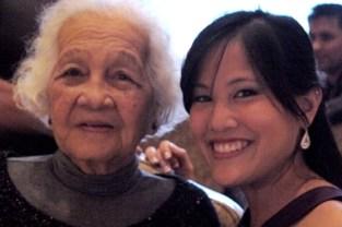 Beautiful women, two generations apart