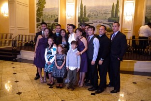 Grandchildren and great-grandchildren of an amazing man.