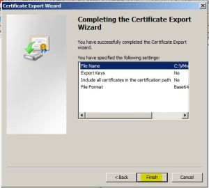 vCenter Certificate
