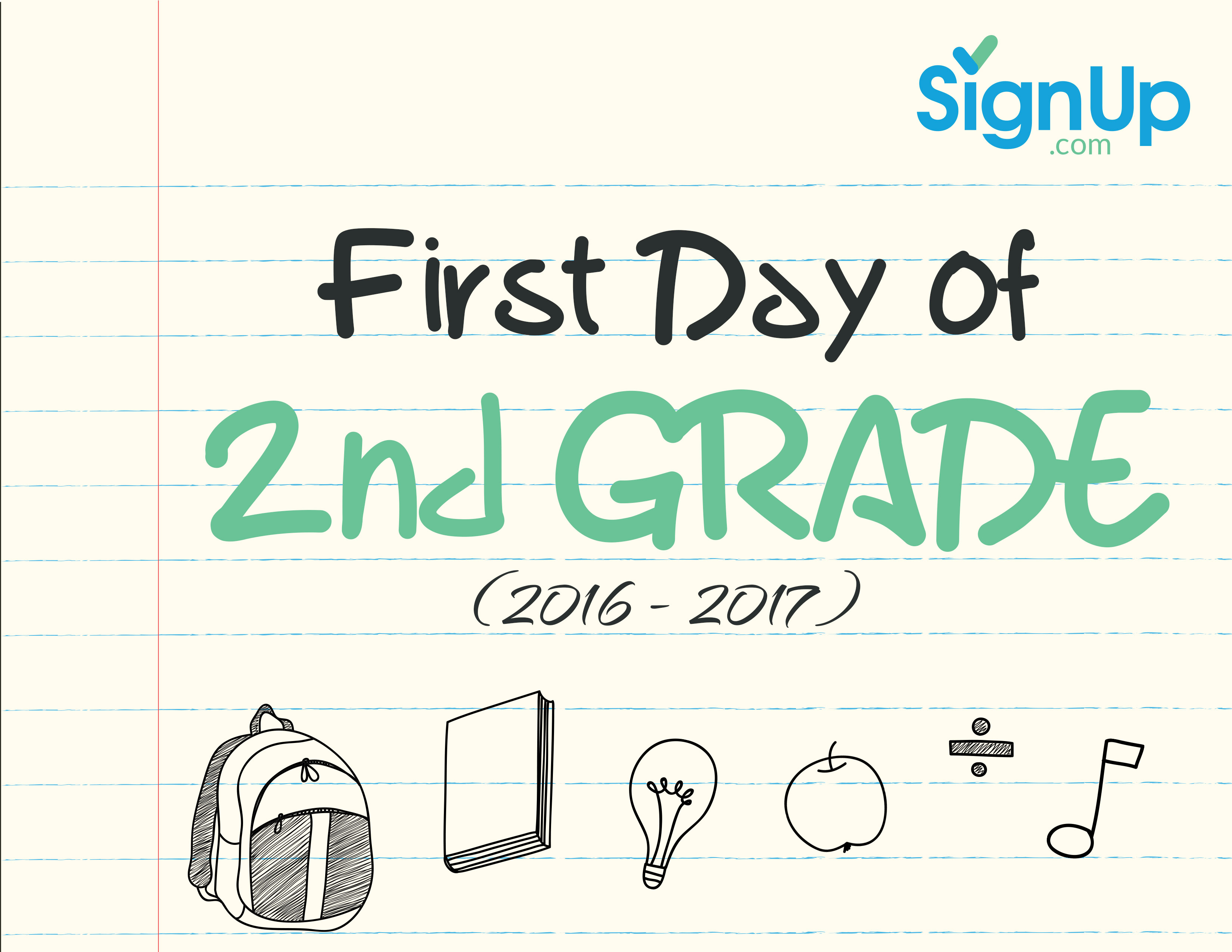 First Day Of School Printable Activities For 5th Grade