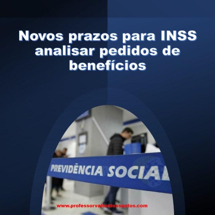 O MPF e o INSS firmaram acordo, o qual foi homologado pelo STF, que prevê prazos para análises dos processos administrativos. Dessa forma, o acordo firmado abrange todos os benefícios administrados pelo INSS, isto é, tanto os previdenciários, quanto o benefício de prestação continuada (LOAS).