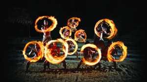 Polynesian Cultural_fire show