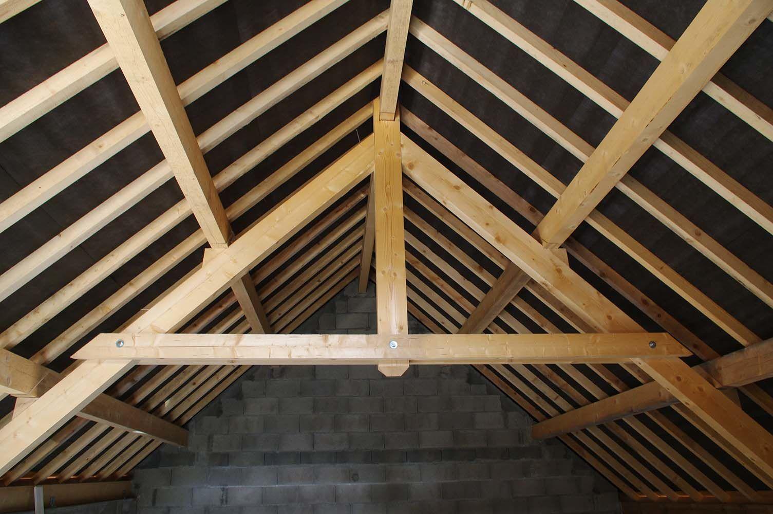 la charpente de votre maison traditionnelle ou fermette
