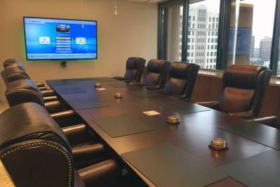 Installation of Video Conferencing System. Boardroom. Baltimore, MD