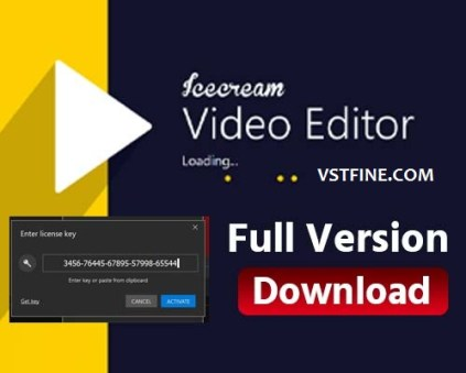 Icecream Video Editor Crack with License key full version free download is an easy-to-use free video editing software for Windows that ...