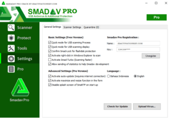 Smadav Pro 2021 Crack is an extra safety (second layer) antivirus and specializes in defending USB Flash-disk to keep away from viruses and infections.
