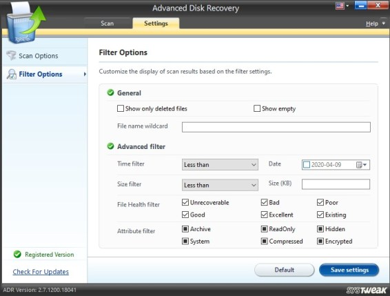 Systweak Advanced Disk Recovery Crack+ Key [2021] Latest