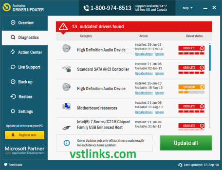 Auslogics Driver Updater 1.24.0.3 Crack With License Key [Latest] 2021