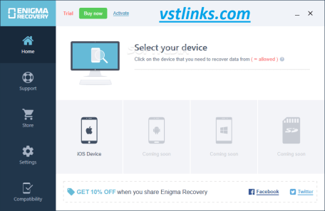 Enigma Recovery Professional 4.1.0 Crack With Keygen {Latest} 2021