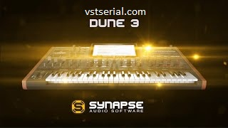 Synapse Audio DUNE 3.4.0 With Crack (Win & Mac) Free Download