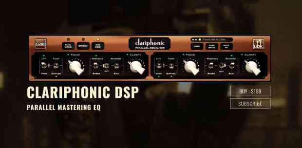 Clariphonic DSP Crack 1.2.2 {Latest Version} Free Download