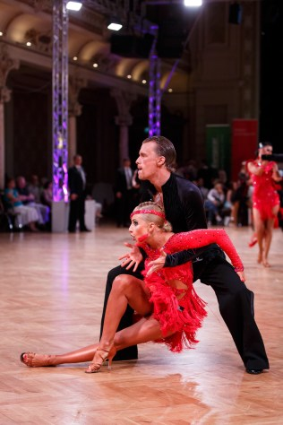 Jul 2, 2016 - Wuppertal, Germany. WDSF Rising Star Latin danceComp 2016, Historische Stadthalle in Wuppertal. (Credit Image; vstudio.photos)