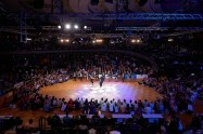August 12, 2017 - Stuttgart, Germany. WRRC Boogie Woogie World Masters Championship Main Class at German Open Championships 2017, Kultur- und Kongresszentrum Liederhalle Stuttgart. (Credit Image; vstudio.photos)