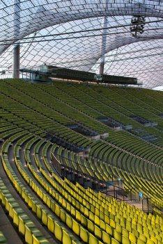 München - 06.09.2018: Olympiastadion in München (), Germany on September 6 2018. Photo by: vstudio.photos