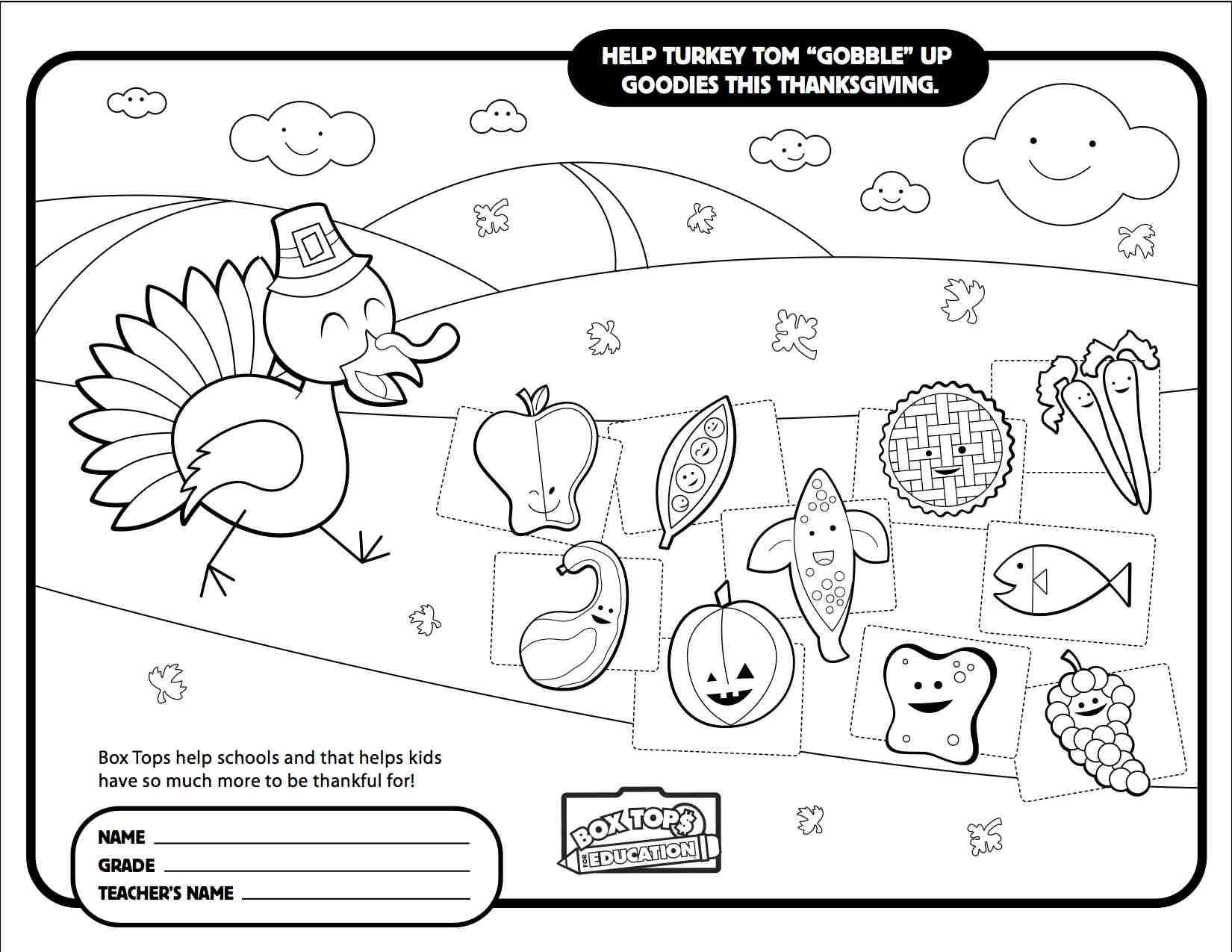 Images About Box Tops Collection Sheets