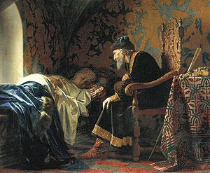 «Царь Иван Грозный любуется на Василису Мелентьевну», Г. Седов