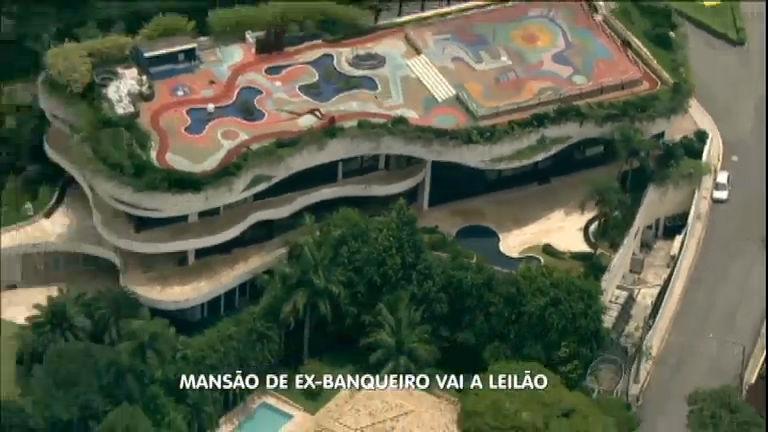 Resultado de imagem para A mansão do ex-banqueiro Edemar Cid Ferreira