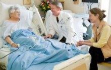 Shirley Berard, left, Allan Ramsay, M.D., Ursula McVeigh, M.D. Photo courtesy of ©2011 UVM Medical Photography / Raj Chawla